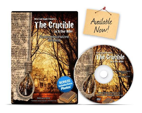 Crucible DVD Case